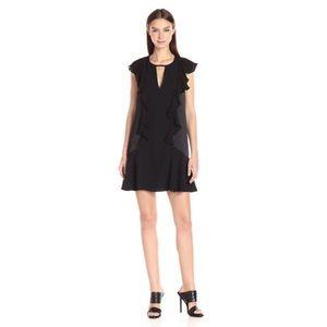 Parker Silk Ruffle Toni Dress- Small